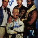 The A Team Cast  Autographed Photo - (Ref:0000137)