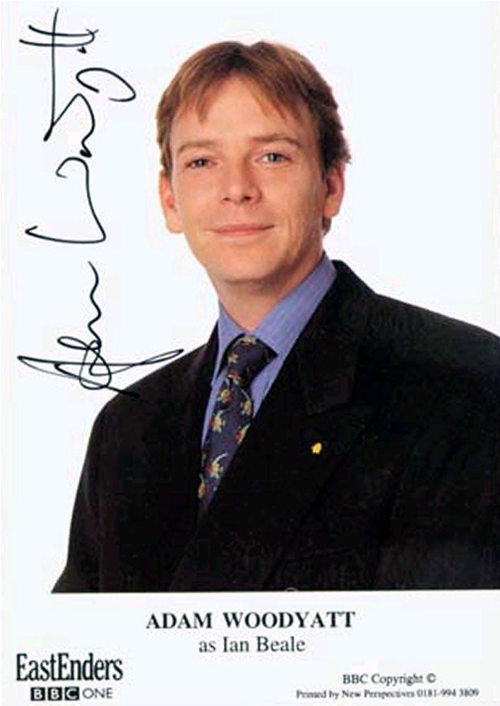 """Adam Woodyatt Eastenders 5 x 7"""" Autographed Photo - (Ref:0000139)"""