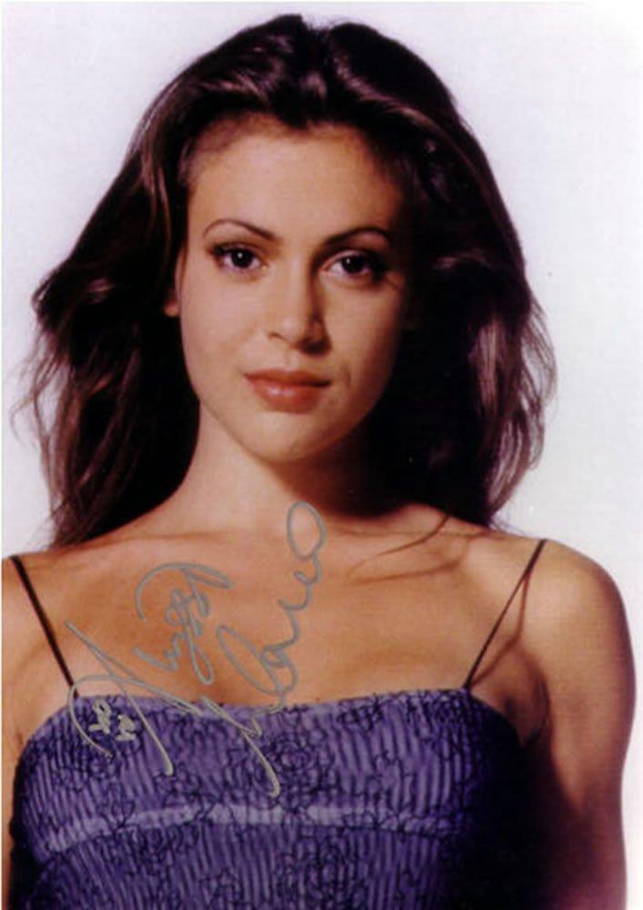 Alyssa Milano Charmed Autographed Photo - (Ref:0000147)