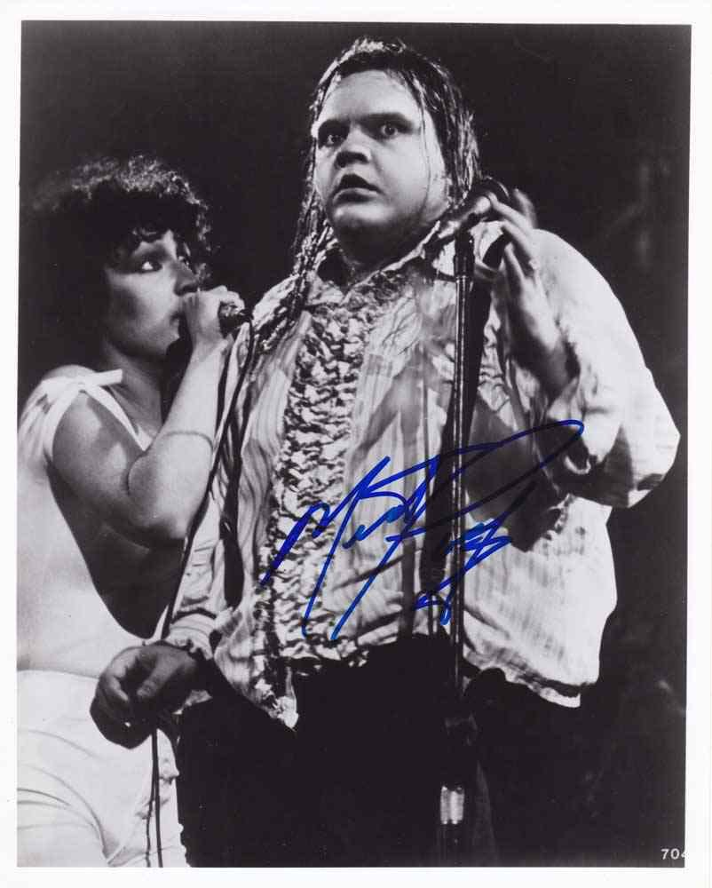 Meat Loaf (Rock Star) Autographed Photo - (Ref:000150)