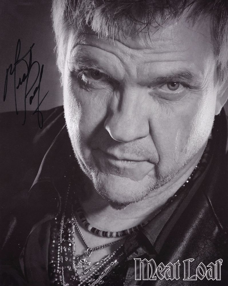 Meat Loaf (Rock Star) Autographed Photo - (Ref:000154)