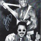 Jimmy Hart with Hulk Hogan (Wrestler) Autographed Photo (Ref:00000155)