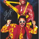 Jimmy Hart with Hulk Hogan (Wrestler) Autographed Photo (Ref:00000157)