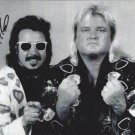 Jimmy Hart with Valentine (Wrestlers) Autographed Photo (Ref:00000158)