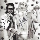 Jimmy Hart with Adonis (Wrestlers) Autographed Photo (Ref:00000159)