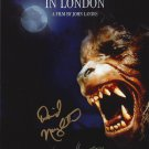 """An American in London 8 X 10"""" Movie Poster signed by David Naughton (Ref 167)"""