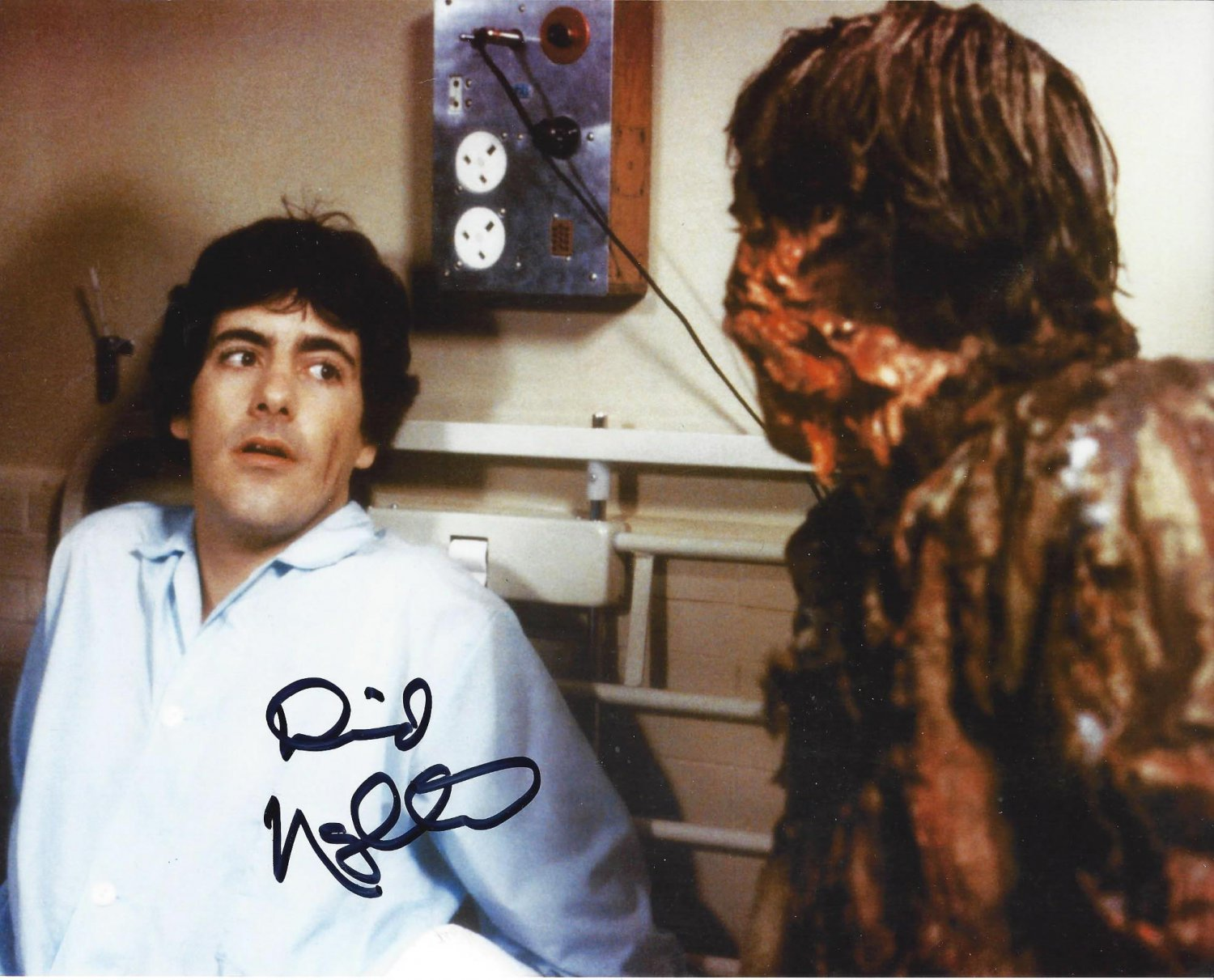 "David Naughton An American in London 8 X 10"" Autographed Photo (Ref:00000169)"