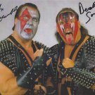 "Demolition (Wrestlers) 8 X 10"" Autographed / Signed Photo (Reprint 00185) Wrestling Autographs"