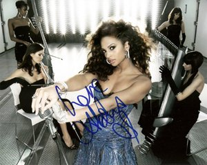 "Alesha Dixon (Pop star) 8 x 10"" Autographed / Signed Photo (Reprint 0194) FREE SHIPPING"