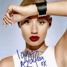"""Iggy Azelea (Pop star) 8 x 10"""" Autographed Photo - (Reprint 000217)"""