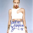 "Iggy Azelea (Pop star) 8 x 10"" Autographed Photo - (Ref:0000219)"
