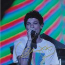 Louis Tomlinson - One Direction (Popstar) Autographed Photo - (Ref:0000237)