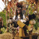 Johnny Depp as Capt Jack Sparrow Pirates Of The Carribean Autographed Photo - (Ref:000293)