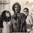 The Rocky Horror Picture Show Cast x 3 Autographed Photo - (Ref:0000305)