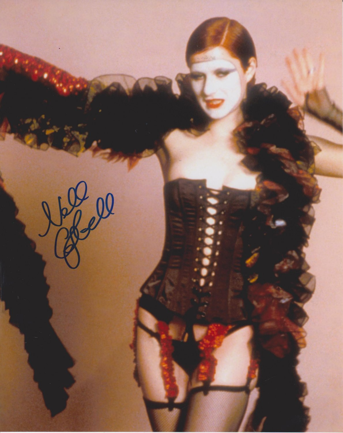 """Nell Campbell  8 x 10"""" Autographed Photo: The Rocky Horror Picture Show- (Reprint :0000311)"""