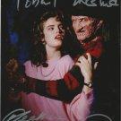 Robert Englund & Heather Langenkamp  / A Nightmare on Elm St Autographed Photo - (Ref:000317)