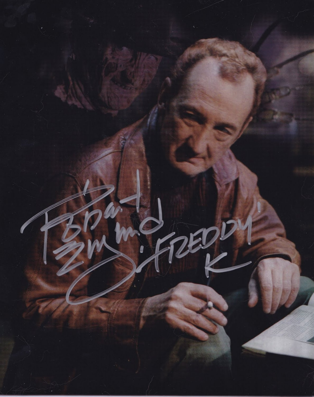 Robert Englund A Nightmare on Elm St Autographed Photo - (Ref:000318)