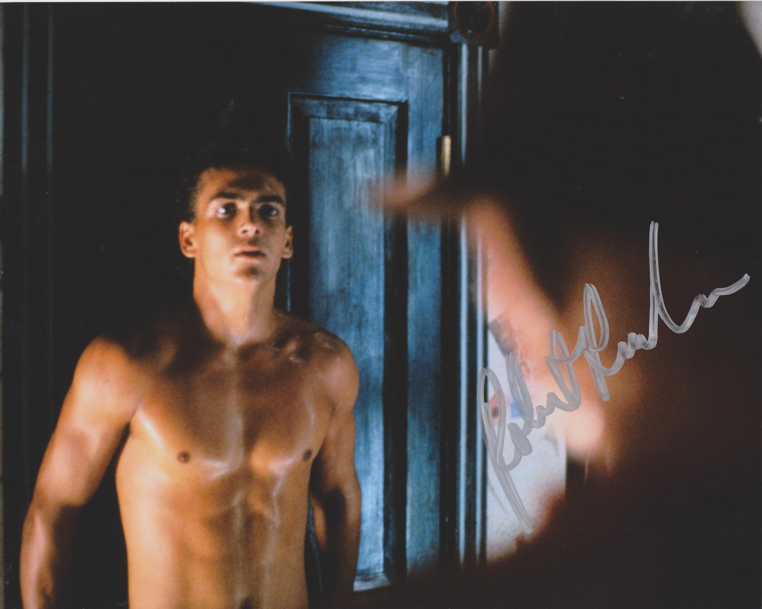 "Robert Rusler 8 X 10"" A Nightmare on Elm St Part 2 Autographed Photo - (Ref:000319)"