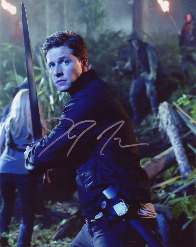 Josh Dallas Once Upon A Time 8 X 10 Autographed Photo - (Reprint:00334) FREE SHIPPING