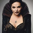 Lana Parrilla Once Upon A Time  Autographed Photo - (Ref:00337)