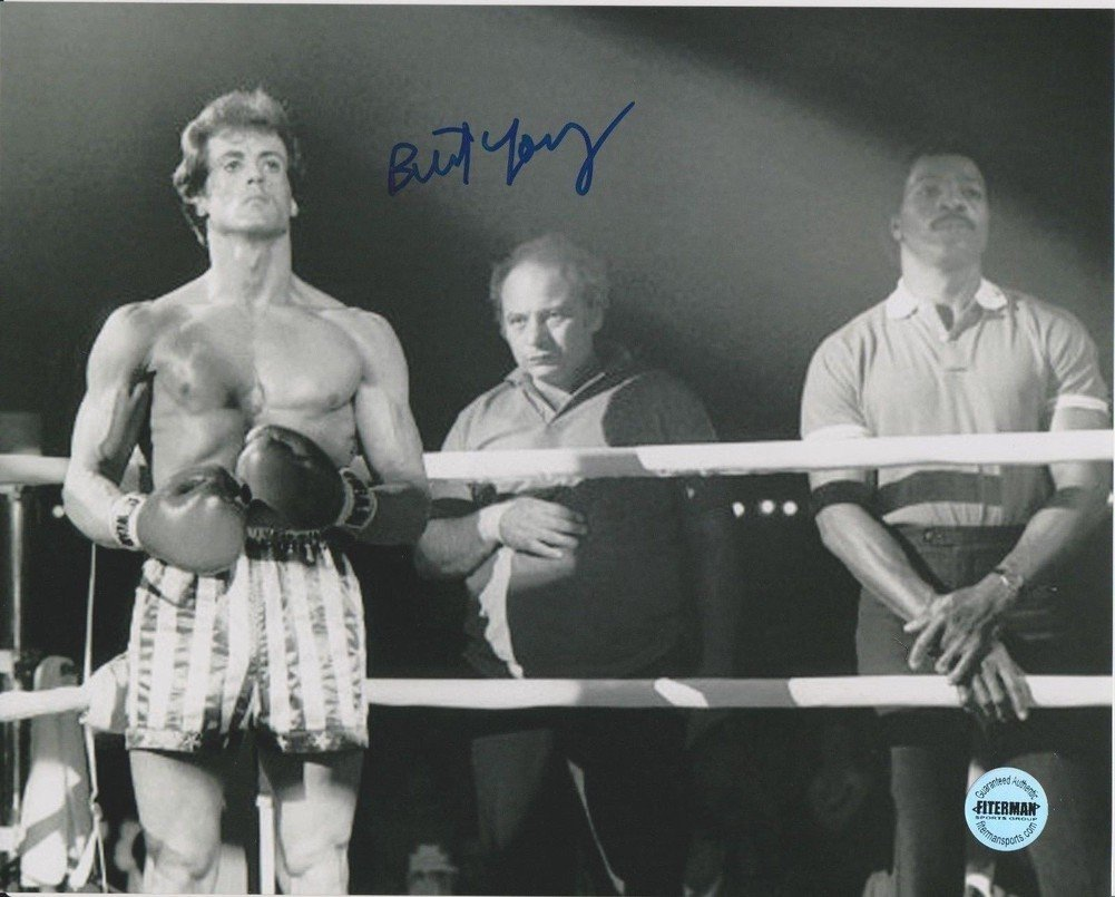 "Burt Young Rocky 8 x 10"" Autographed / Signed Photo (Reprint :000356) ideal for Birthdays & X-mas"