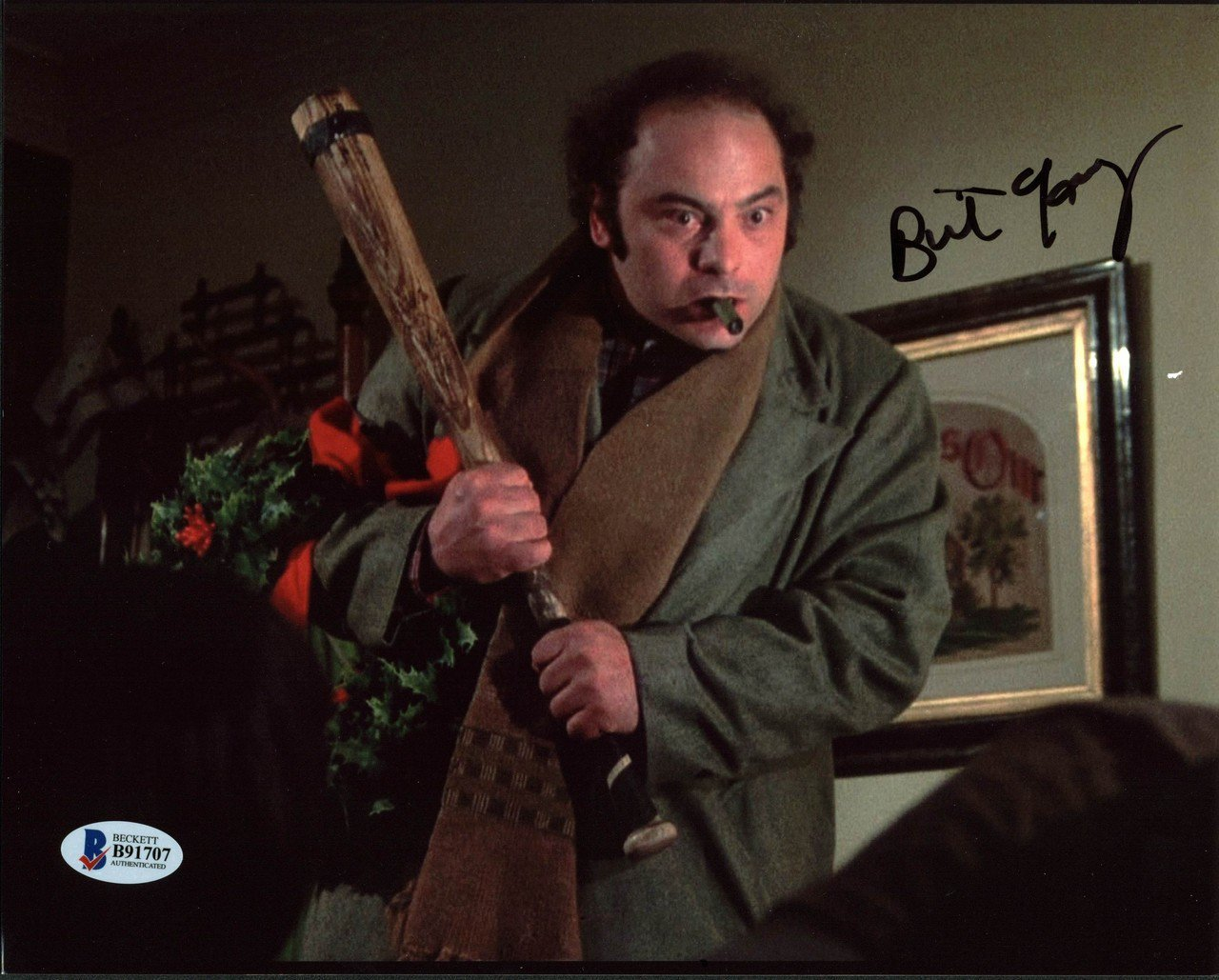 "Burt Young (Amityville Horror) 8 x 10"" Autographed  / Signed Photo (Reprint:000358) FREE SHIPPING"
