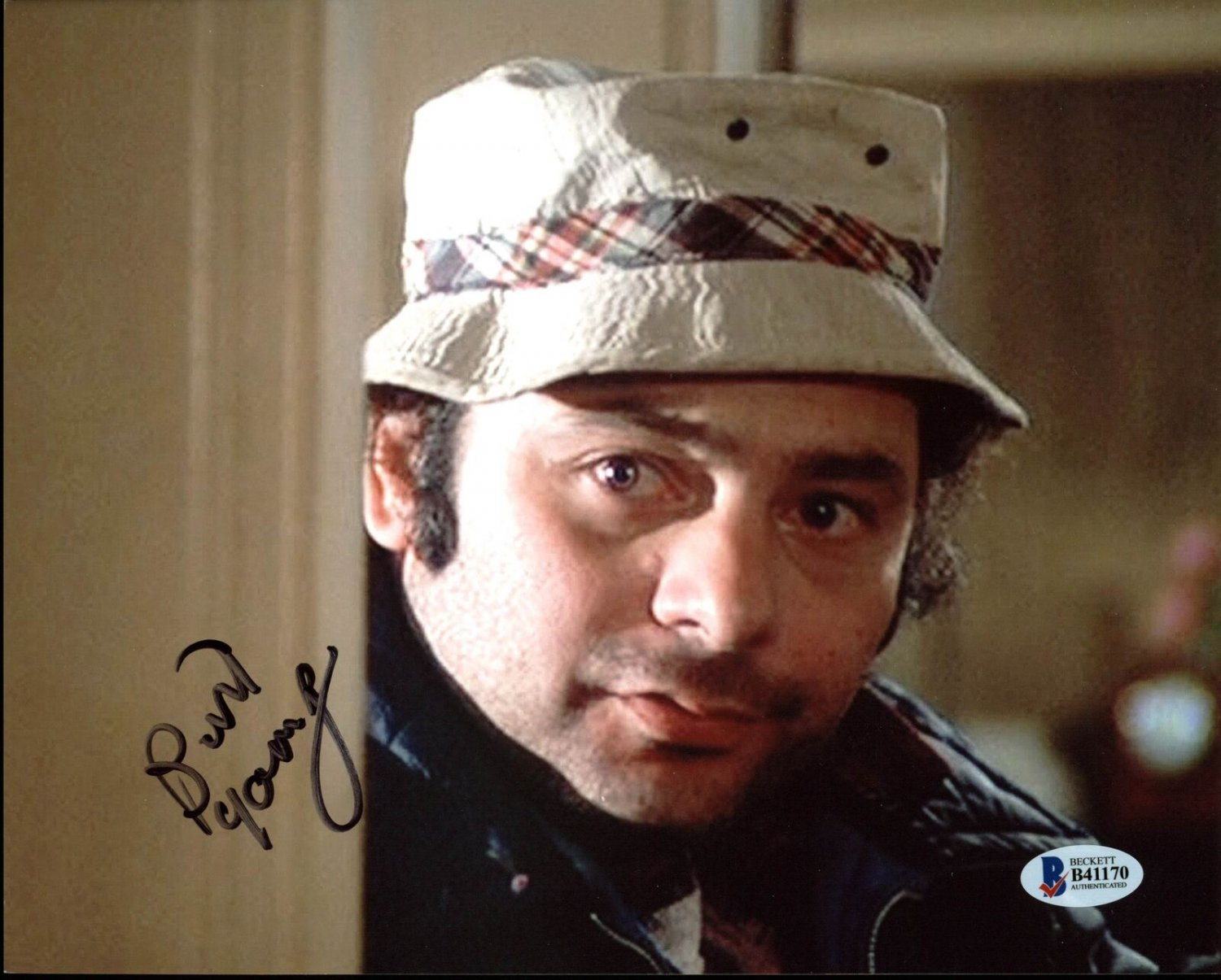 """Burt Young (Rocky) 8 x 10"""" Autographed Photo (Reprint:000359) FREE SHIPPING"""
