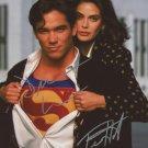 """Dean Cain & Teri Hatcher (Superman) 8 x 10"""" Autographed Photo - (Ref:0000385)"""