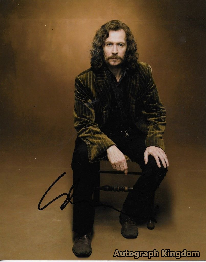 "Gary Oldman Harry Potter/ Batman Begins 8 x 10"" Autographed Photo - (Reprint 389) FREE SHIPPING"