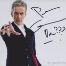 "Peter Capaldi from Dr Who 8 x 10"" Autographed Photo - (Ref:000396)"