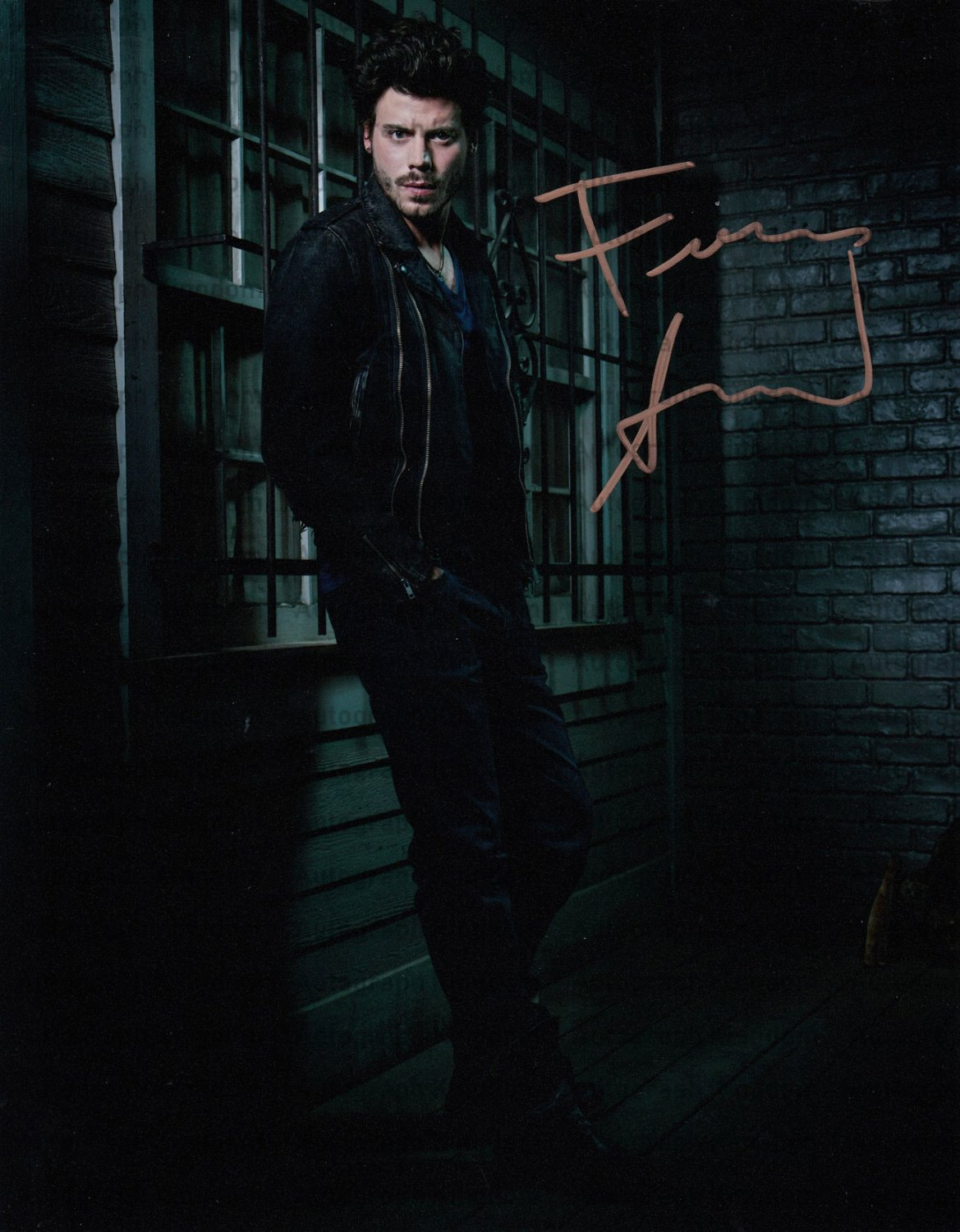 """Francois Arnaud (Ghost Wars) 8 X 10"""" Autographed Photo (Reprint 00414) ideal for Birthdays & X-mas"""