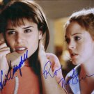 "Neve Campbell & Rose McGowan 8 x 10"" Autographed Photo (Ref:447)"
