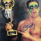 "Sting (WCW Wrestler) 8 x 10"" Autographed Photo (Ref:466)"
