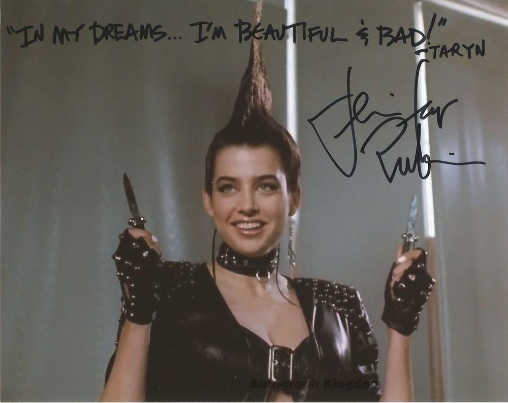 "Jennifer Rubin Dream Warriors 8 x 10"" Autographed Photo - (Ref:478)"