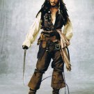 Johnny Depp as Capt Jack Sparrow Pirates Of The Carribean Autographed Photo - (Ref:000483)