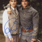 "Ian Somerhalder & Paul Wesley 8 X 10"" Autographed Photo - (Ref:0493)"