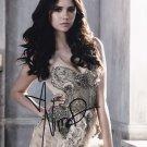 "Nina Dobrev/ The Vampire Diaries 8 x 10"" Autographed Photo (Reprint 494) ideal for Birthdays & X-mas"