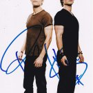 "Ian Somerhalder & Paul Wesley 8 X 10"" Autographed Photo (Reprint:0495)"
