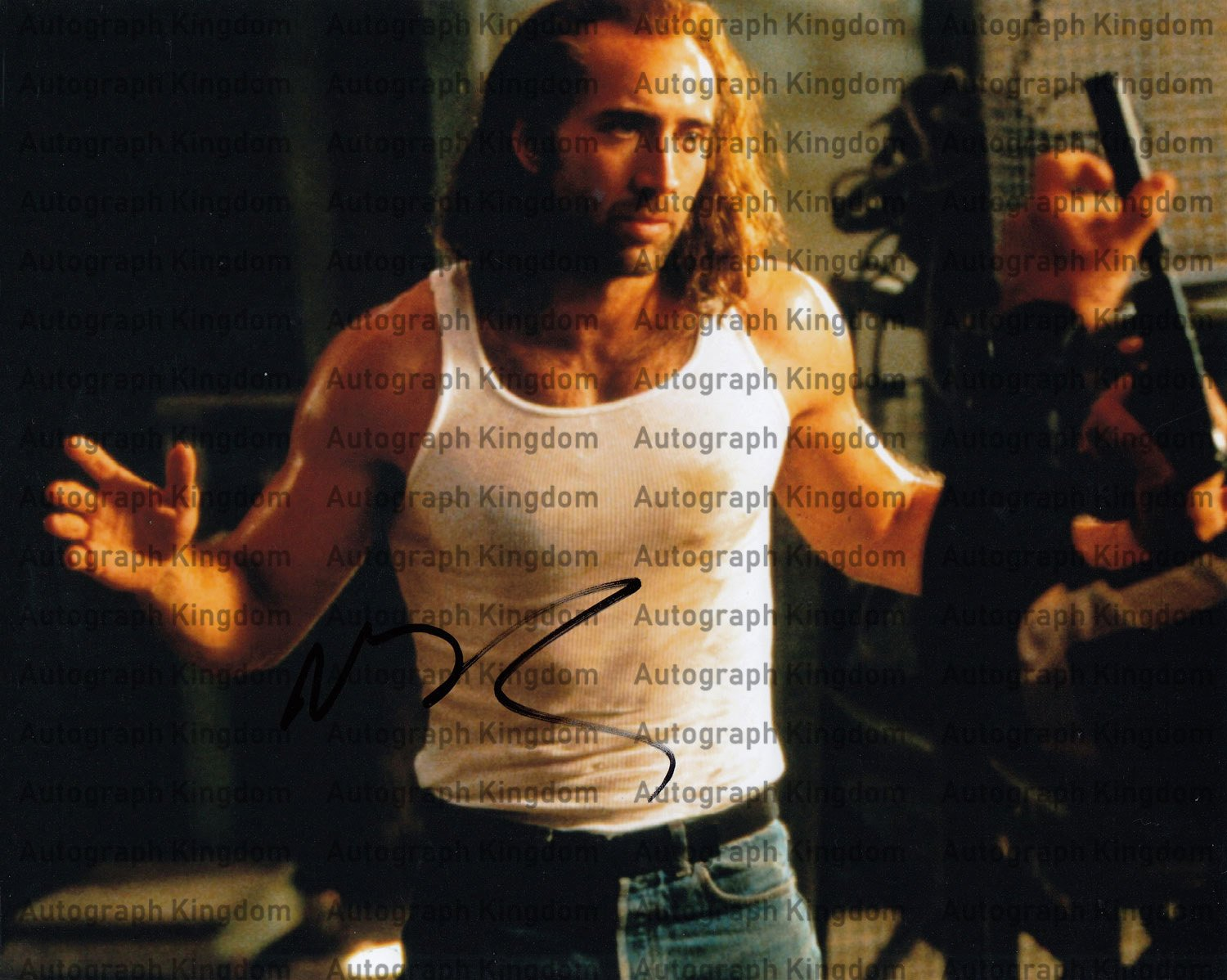 Nicholas Cage (Con Air / Ghost Rider) Autographed Photo (Ref:0000504)