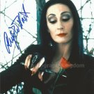 "Anjelica Huston The Addams Family 8 x 10"" Autographed Photo (Ref:515)"