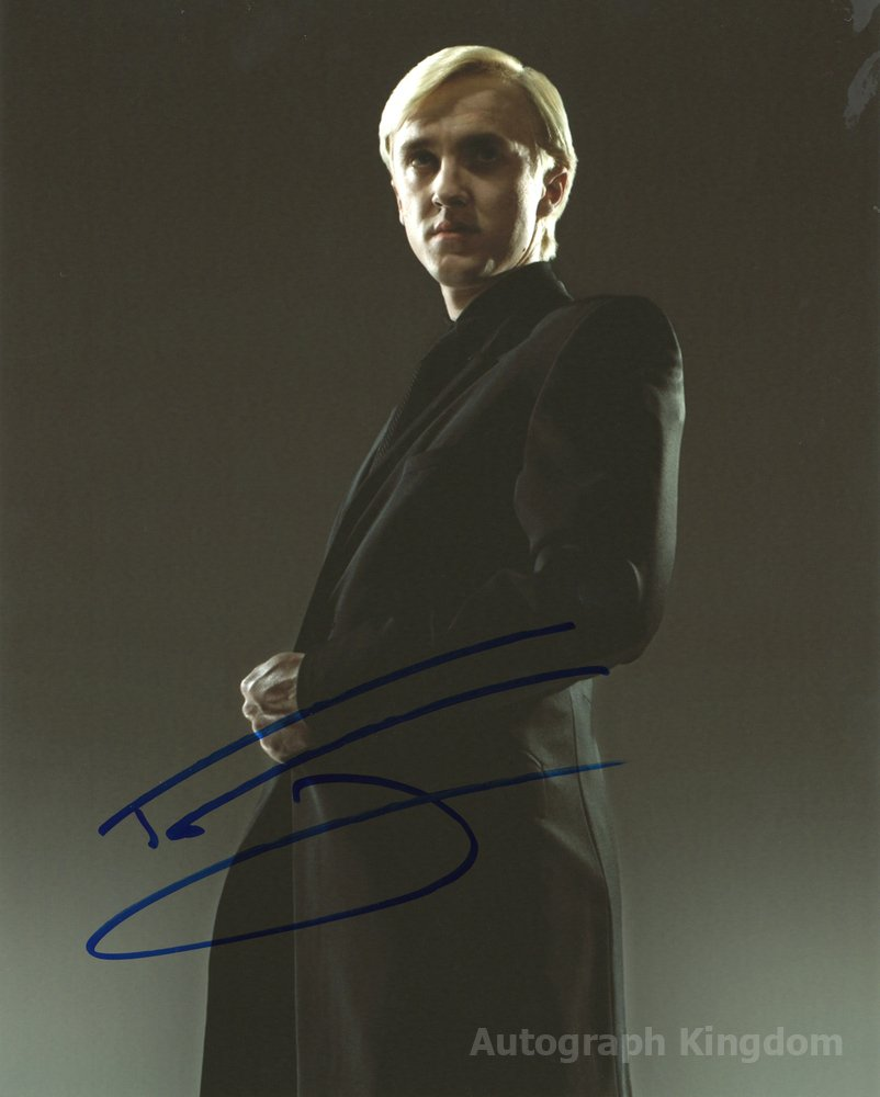 """Tom Felton from Harry Potter 8 x 10"""" Autographed Photo - (Reprint :526) FREE SHIPPING"""