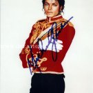 "The King of Pop Michael Jackson 8 X 10"" Autographed Photo (Reprint :529) ideal for Birthdays & X-mas"