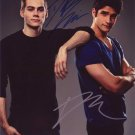 "Tyler Posey & Dylan O'Brien 8 x 10"" Autographed Photo - (Reprint:533)"