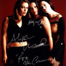 Charmed Autographed Photo x 3 Rose McGowan, Holly Marie Combs & Alyssa Milano (Reprint:534)