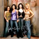 Charmed Cast x 4 Autographed Photo Combs, Doherty, Milano, Sweeting (Reprint:535) Great Gift Idea!