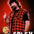 "Mick Foley Wrestler 8 X 10""  Signed / Autographed Photo (Reprint:537) FREE SHIPPING"