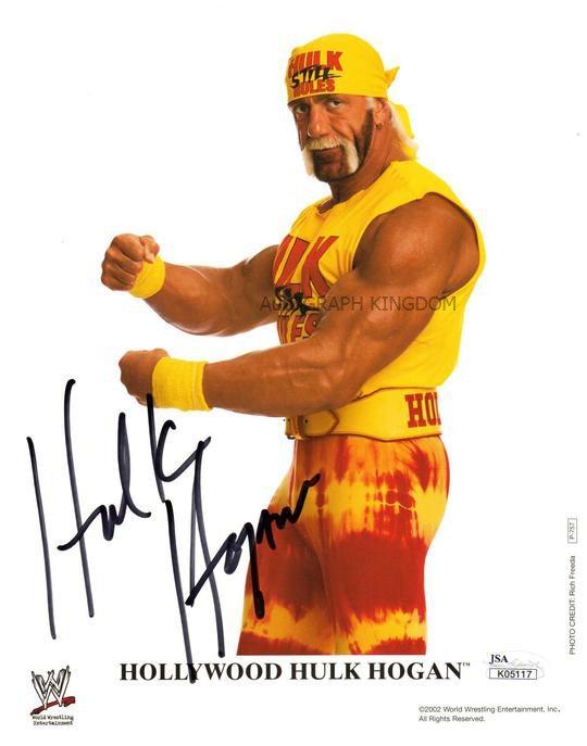 "Hulk Hogan Wrestler 8 X 10"" Autographed / Signed Photo (Reprint:538) ideal for Birthdays & X-mas"
