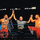 "The Wolves Tag Team Davey Richards & Eddie Edwards  8 X 10"" Autographed Photo (Ref:542)"