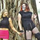 "Dark Allie & Rosemary (Wrestlers) 8 X 10"" Autographed Photo (Reprint:549)"