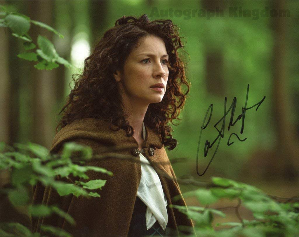 """Caitriona Balfe/ Claire Faser Outlander 8 x 10"""" Signed/ Autographed Glossy Photo - (Ref:576)"""